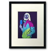 GAME OF THRONES 80/90s ERA CHARACTERS - White Walker Framed Print