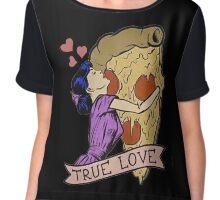 True Love <3 Chiffon Top