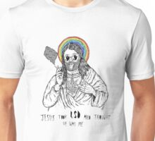 Bad Jesus :( Unisex T-Shirt