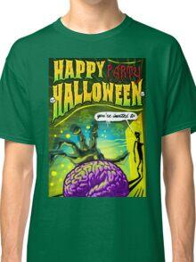 Halloween Brain Party  Classic T-Shirt