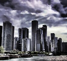 Chicago Skyline by Angela E.L. Clements