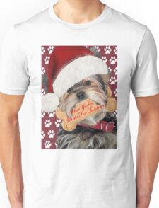 Yorkie What I Want For Christmas Unisex T-Shirt