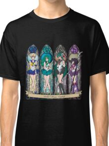 S.M. Crystal stained glass style Classic T-Shirt