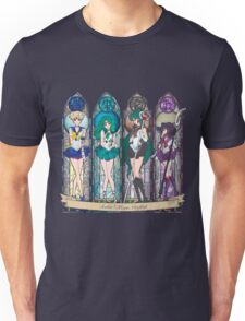 S.M. Crystal stained glass style Unisex T-Shirt