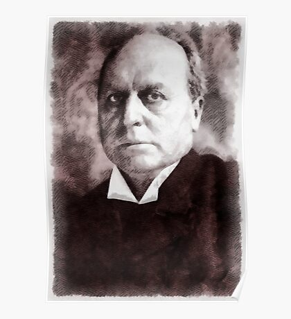 Henry James, Author Poster