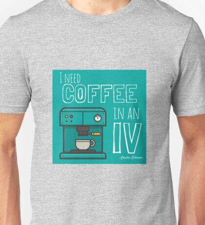 Lorelai Gilmore, Coffee Addict Unisex T-Shirt