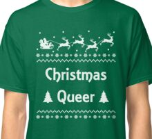 Christmas Queer Funny LGBT Pride Ugly Sweater Classic T-Shirt