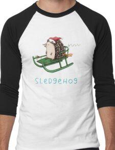 Sledgehog Men's Baseball ¾ T-Shirt