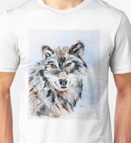 She Wolf - Animal Art by Valentina Miletic Unisex T-Shirt