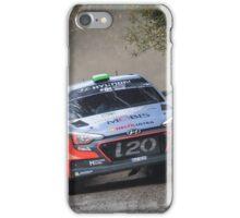 Hayden Paddon Rallying iPhone Case/Skin