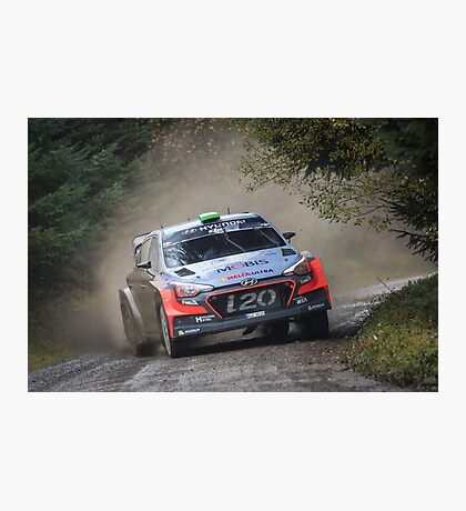 Hayden Paddon Rallying Photographic Print