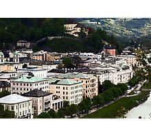 Vintage Salzburg Photographic Print