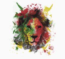 Rasta Lion Kids Tee