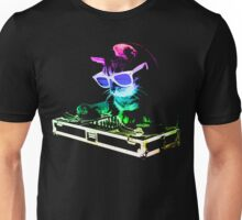 Rainbow DJ Cat Unisex T-Shirt