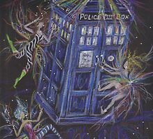 TARDIS by DawnFairies