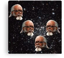 """Jimmy McMillan """"The Rent Is Too Damn High"""" In Outer Space Canvas Print"""