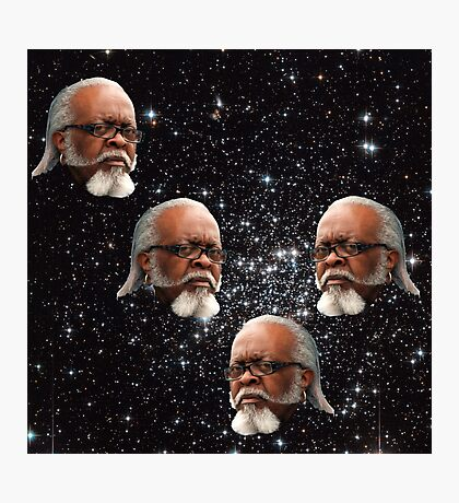 """Jimmy McMillan """"The Rent Is Too Damn High"""" In Outer Space Photographic Print"""