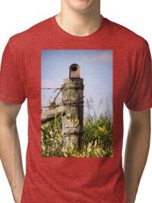 Country Birdhouse Tri-blend T-Shirt