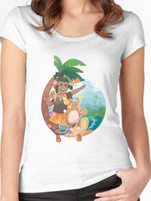 Hau Women's Fitted Scoop T-Shirt