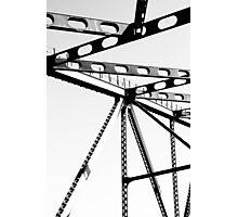 Bridge Lines Photographic Print