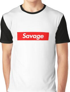 Savage x Supreme Graphic T-Shirt