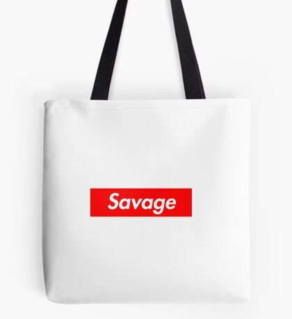 Savage x Supreme Tote Bag