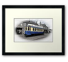Ride through the past Framed Print