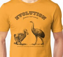 EVOLUTION...it even takes the Unbelievers! Unisex T-Shirt