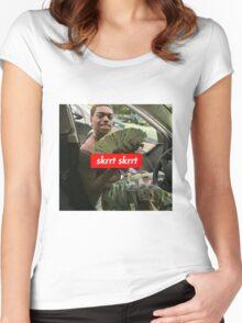 Supreme x Kodak Black x Skrr Skrr Women's Fitted Scoop T-Shirt