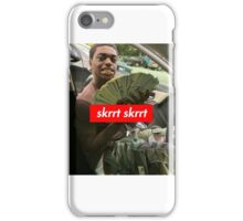 Supreme x Kodak Black x Skrr Skrr iPhone Case/Skin