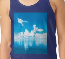 Calming Clouds of the Caribbean Tank Top