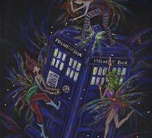 TARDIS 1 by DawnFairies