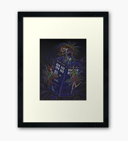 TARDIS 1 Framed Print
