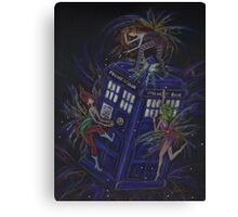 TARDIS 1 Canvas Print