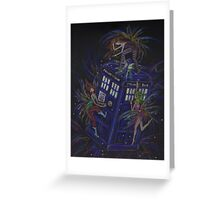 TARDIS 1 Greeting Card