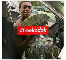 Free Kodak Black x Supreme Poster