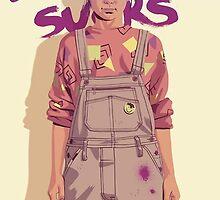 GAME OF THRONES 80/90s ERA CHARACTERS - Arya Stark by GOT80-90