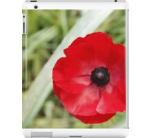 Lonely Poppy iPad Case/Skin