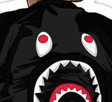 A Bathing Ape Logo Shark Sticker