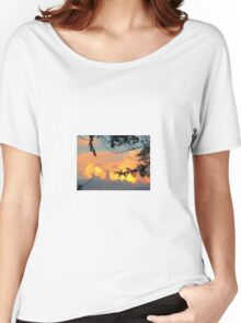 Touch me in the sky Women's Relaxed Fit T-Shirt