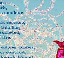 Breath of Rose Sticker