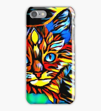 Painted Kittens iPhone Case/Skin