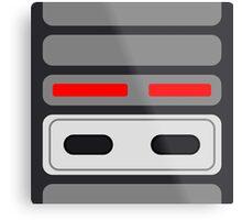NES Select/Start Metal Print