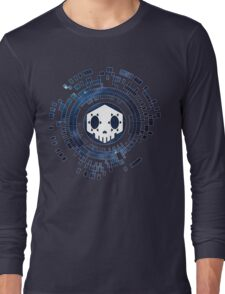 Skycode: Sombra (Skull Sky) Long Sleeve T-Shirt