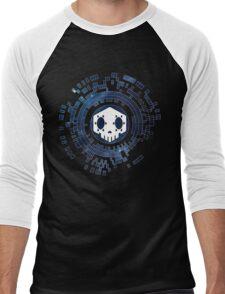 Skycode: Sombra (Skull Sky) Men's Baseball ¾ T-Shirt