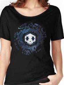 Skycode: Sombra (Skull Sky) Women's Relaxed Fit T-Shirt