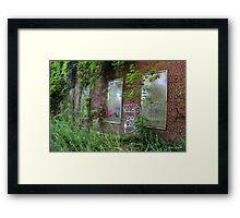 Man vs Nature Framed Print