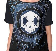 Skycode: Sombra (Skull Sky) Chiffon Top