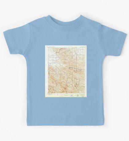 USGS TOPO Map California CA Tesla 298994 1907 62500 geo Kids Tee