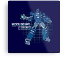 Optimus Time Metal Print